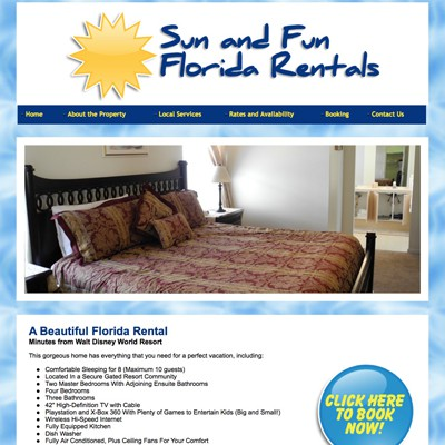 Sun and Fun Florida Rentals