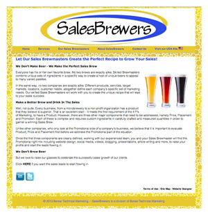SalesBrewers Website