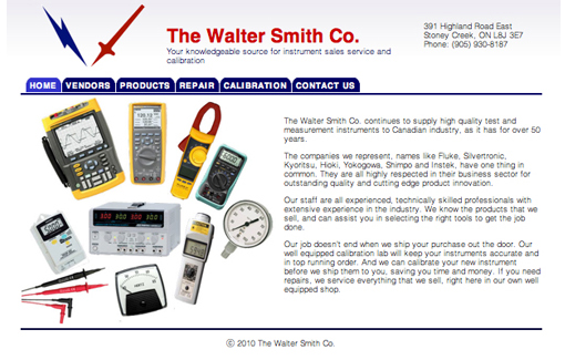 Walter Smith Website